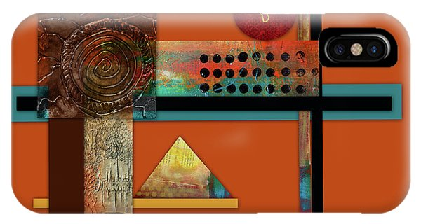 Illusion iPhone Case - Collage Abstract 8 by Patricia Lintner