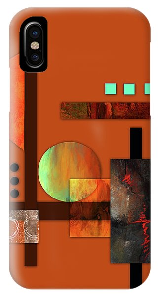 Collage Abstract 9 IPhone Case