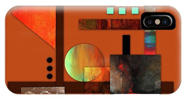 Illusion iPhone Case - Collage Abstract 9 by Patricia Lintner
