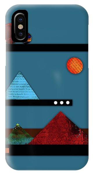Collage Landscape 2 IPhone Case