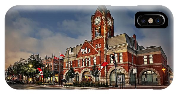 Collingwood Townhall IPhone Case