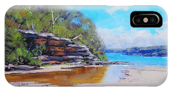 Manly iPhone Case - Collins Beach Manly by Graham Gercken