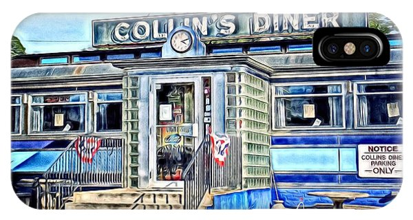 Collin's Diner New Canaan,conn IPhone Case
