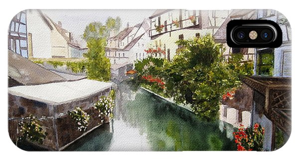 Colmar Canal IPhone Case