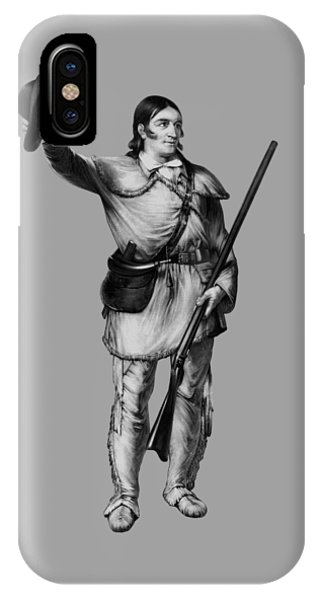 Colonel Davy Crockett IPhone Case