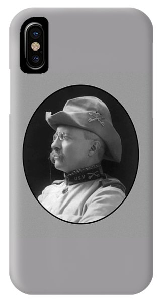 Cavalry iPhone Case - Colonel Roosevelt by War Is Hell Store