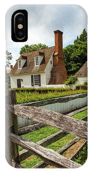 Colonial America Home IPhone Case