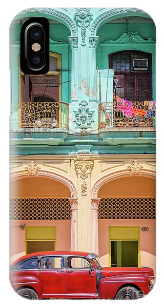 Cuba iPhone Case - Colonial Architecture by Delphimages Photo Creations