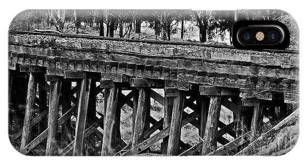 iPhone Case - Colonial Era Bridge. by Blair Stuart