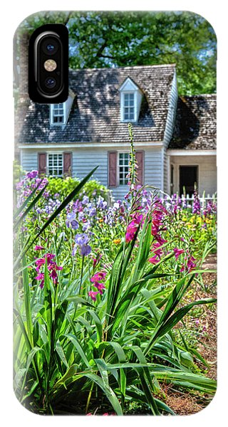 Colonial Garden1 IPhone Case