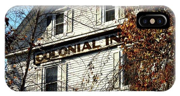 Colonial Inn IPhone Case