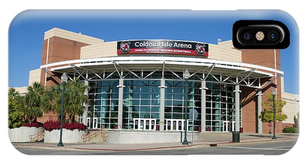 IPhone Case featuring the photograph Colonial Life Arena by Joseph C Hinson Photography