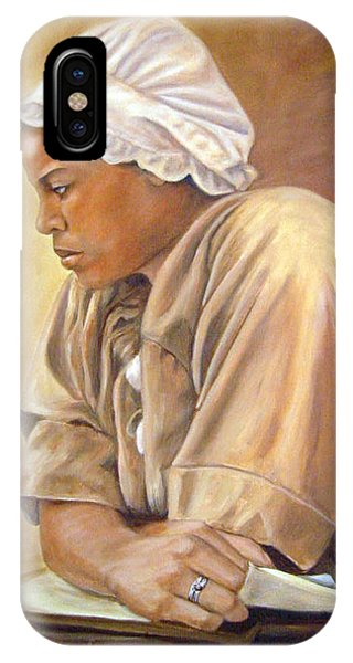 Colonial Serving Girl IPhone Case