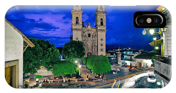 Colonial Town Of Taxco, Mexico IPhone Case