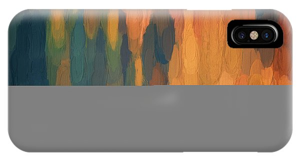 IPhone Case featuring the digital art Color Abstraction L Sq by David Gordon