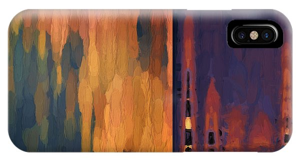 Color Abstraction Liv IPhone Case