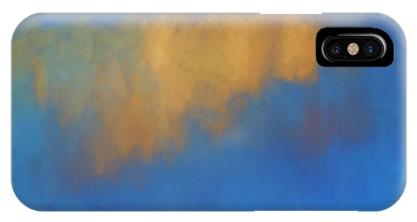 IPhone Case featuring the digital art Color Abstraction Lvi by David Gordon
