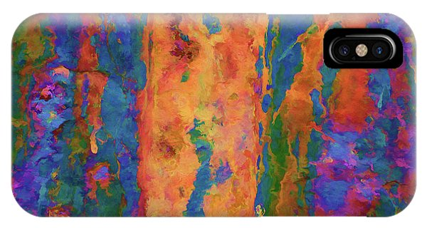 IPhone Case featuring the photograph Color Abstraction Lxvi by David Gordon