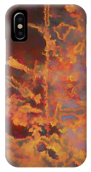 Analogous Color iPhone Case - Color Abstraction Lxxi by David Gordon