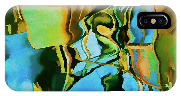 Analogous Color iPhone Case - Color Abstraction Lxxiii by David Gordon
