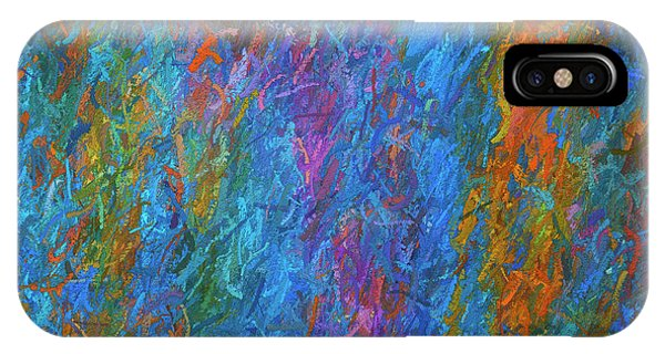 Color Abstraction Xiv IPhone Case
