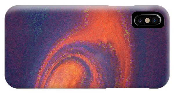 IPhone Case featuring the digital art Color Abstraction Xlii by David Gordon