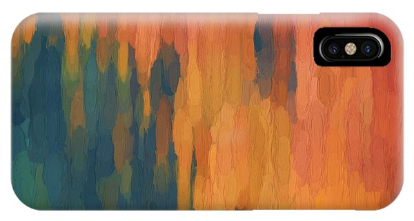 IPhone Case featuring the digital art Color Abstraction Xlix by David Gordon