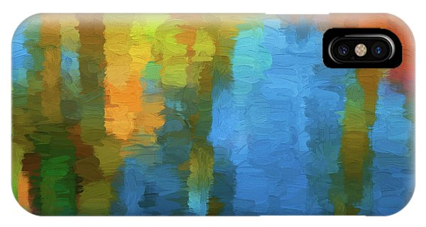 Color Abstraction Xxxi IPhone Case