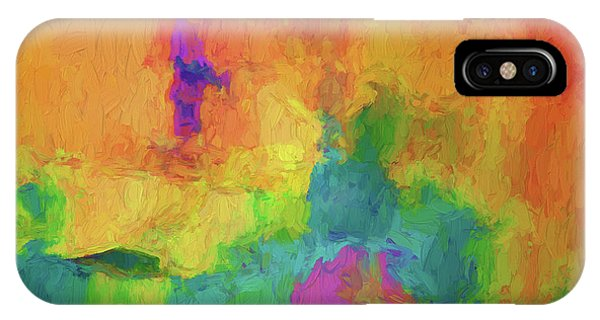 Color Abstraction Xxxiv IPhone Case