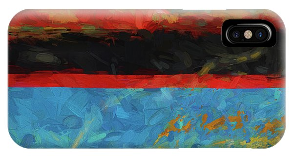 Color Abstraction Xxxix IPhone Case