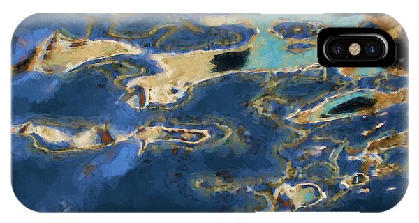 Color Abstraction Xxxvii - Painterly IPhone Case