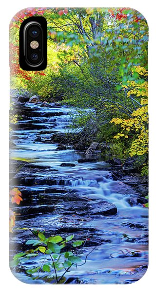 Creek iPhone Case - Color Alley by Chad Dutson