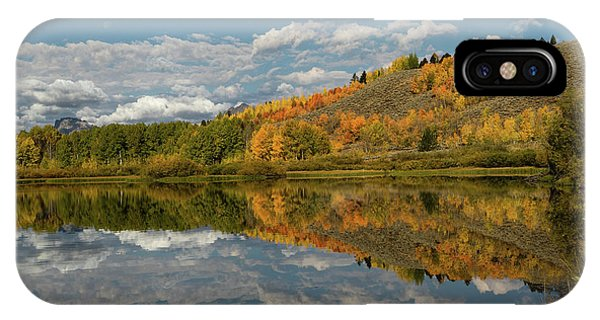 Color At Oxbow Bend IPhone Case