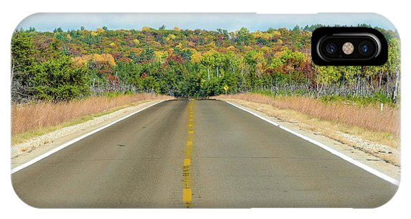Color At Roads End IPhone Case