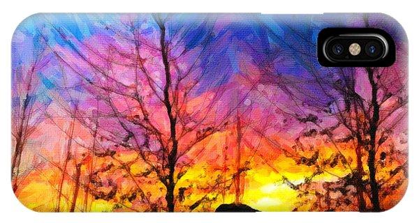 Color Burn IPhone Case