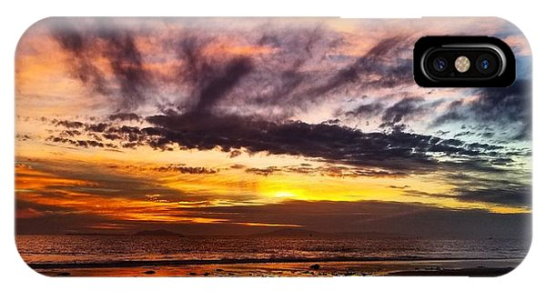 Color Burst Malibu Sunset IPhone Case