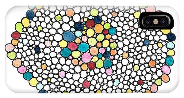 Color Cells IPhone Case