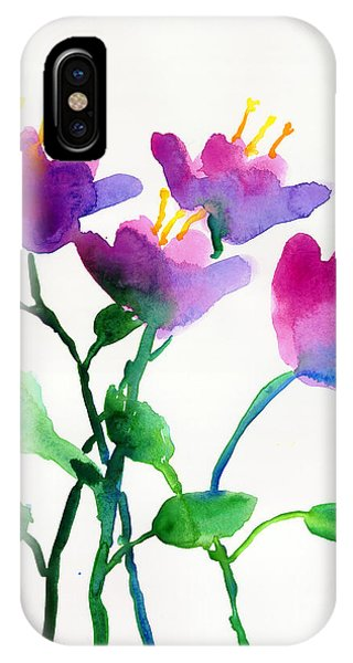Color Flowers IPhone Case