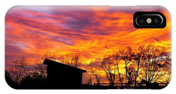 Color In The Sky IPhone Case