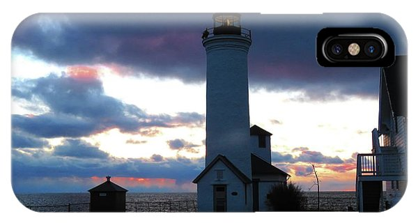 Color Of December, Tibbetts Point Lighthouse IPhone Case
