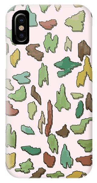 Color Pattern 3d IPhone Case