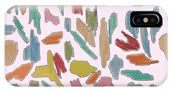 Color Pattern 5 IPhone Case
