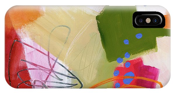 Panel iPhone Case - Color, Pattern, Line #4 by Jane Davies