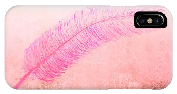 Color Trend Feather In The Wind IPhone Case