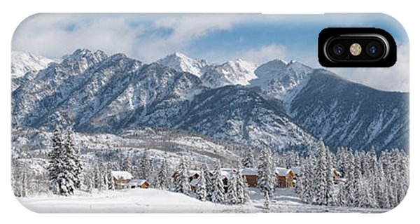 Colorad Winter Wonderland IPhone Case