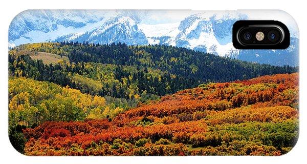 Colorado Autumn 2016 San Juan Mountains  IPhone Case