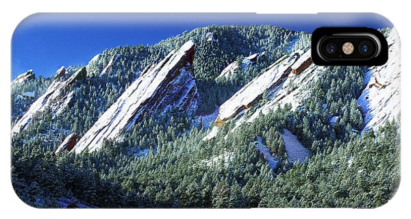 All Five Colorado Flatirons IPhone Case