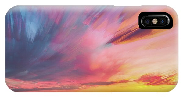 Colorado Front Range Crazy Sunset Timed Stack Phone Case by James BO Insogna