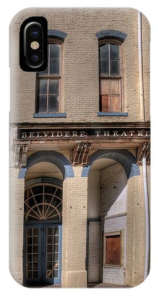 Belvidere Theatre IPhone Case