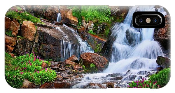 Colorado Mountain Stream, Indian Peaks Wilderness IPhone Case